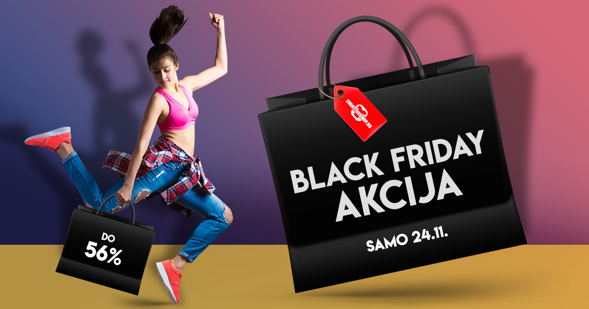 Black Friday akcija - uštedi do 56%