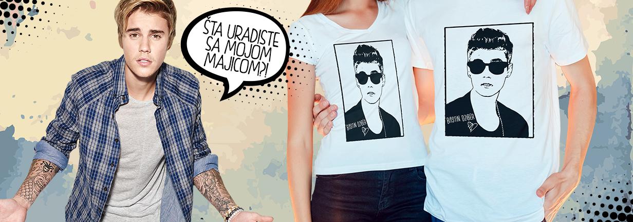 Majica Bastin Džiber - Justin Biber