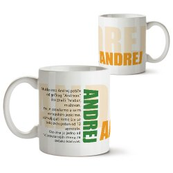 Šolje sa imenima - Andrej
