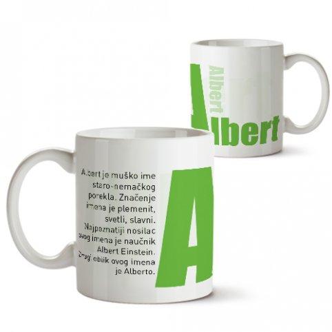 Šolje sa imenima - Albert