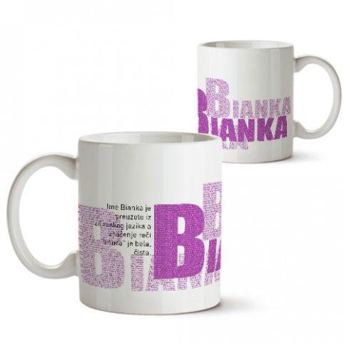 Šolje sa imenima - Bianka