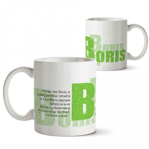 Šolje sa imenima - Boris