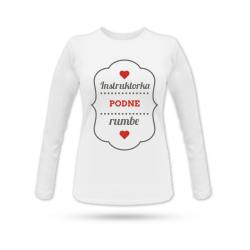Instruktorka podne rumbe - Ženska majica